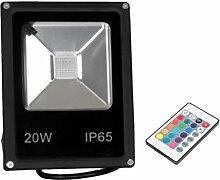 perfk Multifunktion LED RGB Leuchte Flutlicht