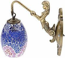 perfk Vintage Wandlampe Wandleuchte Flurlampe mit