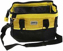 perfk Werkzeugtasche Elektriker Werkzeugkoffer mit