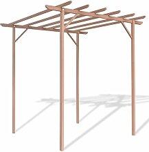 Pergola bestehend aus Holz-Kunststoff 2x 2x