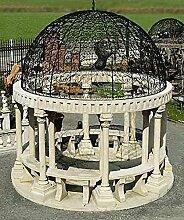 Pergola, Gartenhauser, Pavillon, Laube, Pergolen, Farbe hellgrau