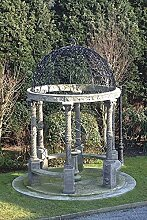 Pergola, Gartenhauser, Pavillon, Laube, Pergolen, Farbe terrakotta