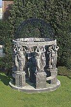 Pergola, Gartenhauser, Pavillon, Laube, Pergolen, Stein, Ø 300
