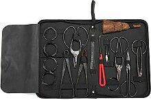 PerGrate 10 Stücke Garten Bonsai Werkzeug Set