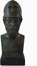 Perikles Büste mit Bronze Farbe