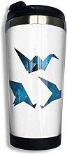 Perilla Fire Coffee Reisebecher Kranich Origami