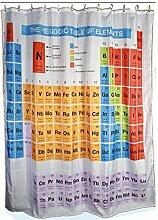 Periodensystem der Elemente Chemie Duschvorhang