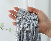 Perlenvorhang mit Perlenbesatz, Raumteiler,