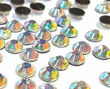 Perlin Glas AA Hotfix Strasssteine Strass Crystal