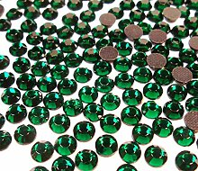 Perlin Hot Fix 4mm Glas Flache Rückseite