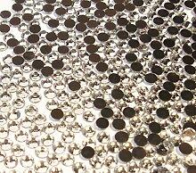 Perlin Hotfix 5mm Flatback Rückseite Strasssteine