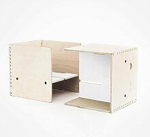Perludi MAXintheBOX Kinderstuhl-Set in weiß