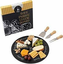 Permaggio Käsebrett für Weine, umweltfreundlich,