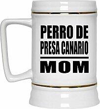 Perro De Presa Canario Mom - Beer Stein Bierkrug