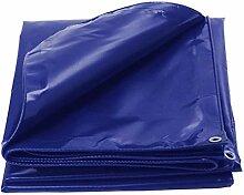Persenning Blau Regen Cover Tarp Blatt Wasserdicht