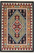 Perser Design Teppich Arta Navy Blau 150x 100cm 4,9x 3,3ft traditionellen Teppich