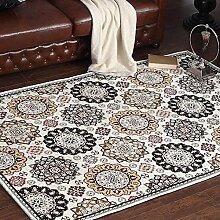 Persien Style Home Teppiche–memorecool Haustierhaus Acryl Faser reaktiver Druck Wohnzimmer/Schlafzimmer/Tisch/Sofa Bereich Teppiche Maschinenwaschbar 76,2x 119,4cm, Sun6, 55x79inch