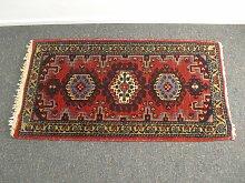 Persischer Kleiner Vintage Wollteppich
