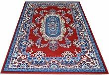 Persischer Teppich Stil Klassisch Erhältlich in verschiedenen Größen–Farbe rot ROYAL SHIRAZ 2063-red 1 pz. cm.70x130 + 2pz. cm.55x105 ro