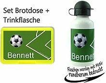 persönliche Brotdose BPA-Frei + Trinkflasche aus