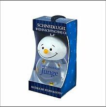 Persönliche Schneekugel On a snowy Night Weihnachtskugel Beste Eltern Weihnachtsbaum