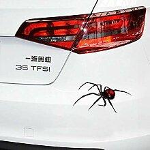 Persönlichkeit Auto Aufkleber Black Widow Spider