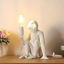 Persönlichkeit Landhaus Monkey Tischleuchte