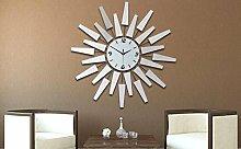 Persönlichkeit Mode, zeitgenössische europäische elektronische Uhr/Creative Acryllinse stumm, wenn das Wohnzimmer Clock