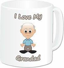 Personalised I Love My Grandad Mug (A