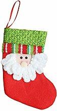 personalisierbar New Year Weihnachten Strümpfe Weihnachtsbaum Dekoration Zum Aufhängen Santa Claus