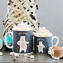 Personalisierbare Weihnachtsbecher, Motiv: