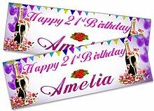 Personalisierbares Geburtstagsbanner für