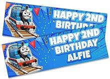 Personalisierbares Geburtstagsbanner für Kinder,