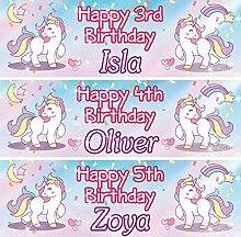 Personalisierbares Geburtstagsbanner mit