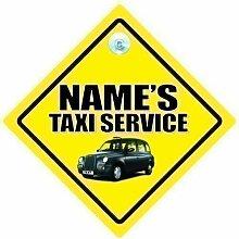 Personalisiert Taxi-schild,personalisiert Taxi
