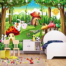 Personalisierte 3D-Tapete Für Kinderzimmer