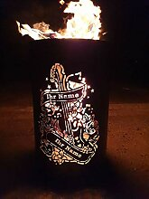 Personalisierte Feuertonne / Feuerkorb individuell