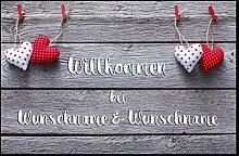 Personalisierte Fußmatte Love mit Ihrem Namen