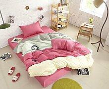 Personalisierte Modefarbe Baumwolle Eine Vierköpfige Familie Bettwäsche,Evetemptation-1.5