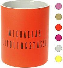 Personalisierte Tasse mit Namen | 0,3 l Farbige