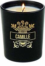 Personalisierten Kerze mit Namen