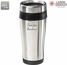 Personalisierter Coffee to Go Becher Kaffeebecher