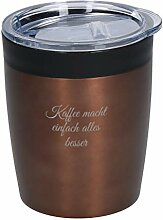 Personalisierter Coffee To Go Thermo Becher