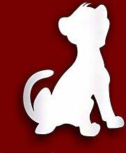 Personalisierter Geschenk - 50 cm-Löwenbaby, aus Acryl, 10 cm, sich frei