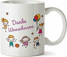 Personalisierter Kaffeebecher Abschiedsgeschenk