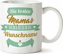 Personalisierter KaffeebecherDie Besten Mamas,