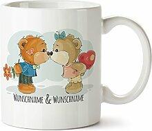 Personalisierter Süßer Kaffeebecher bedruckt