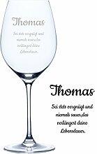 Personello® Weinglas mit Gravur (Motiv