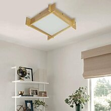 Perspections Deckenlampe LED Wohnzimmerlampe Holz