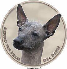 Peruanischer Nackthund Aufkleber 25 cm